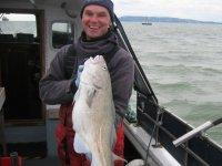 Matt with a nice fat Cod