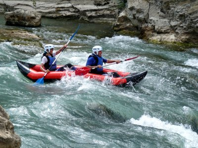 Open Kayak/Canoe-raft tour Murillo de Gállego