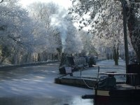 Narrowboats can be enjoyed all year round
