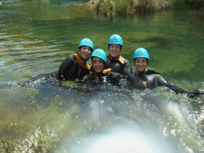 Paintball, canyoning and night at Cuenca