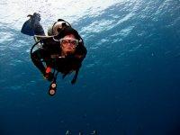 Scuba diving in UK