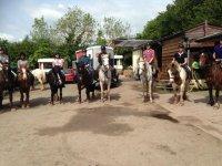 Trekking with Ellesmere Riding Centre
