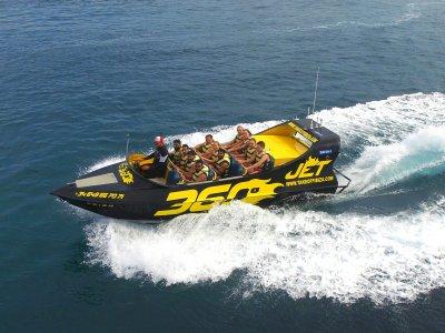 Tricks on Jet Boat 360º Ibiza for kids