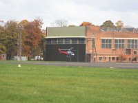Helicopter services at Leeds East Airport