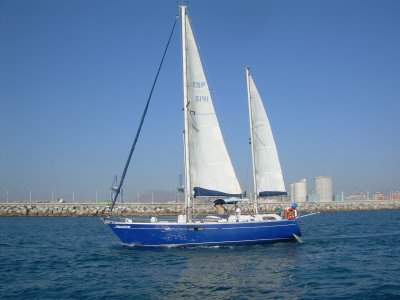 Sailboat to Tabarca from Altea