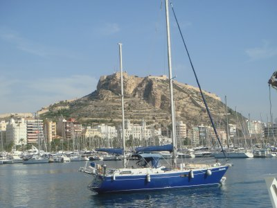 sailboat tour of Tabarca from Torrevieja