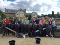 The staff of Radway Riding School