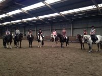 Our indoor arena in Radway Riding School