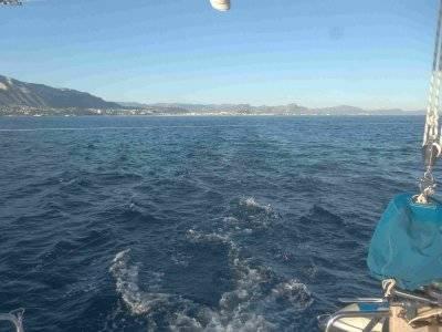 Sailing boat ride Islote of Benidorm
