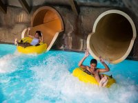 Exciting slides at Alton Towers Resort Water Park!