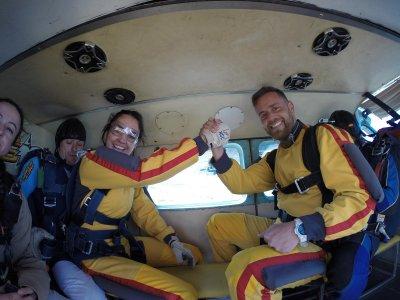 Parachute Baptism Course Pack Near Madrid
