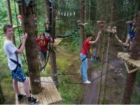 Take to the high ropes course