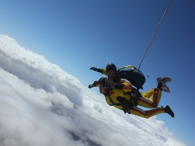 Course of Skydiving+A-Level Diploma+4 Way,Lillo
