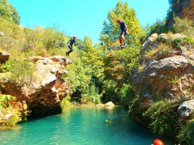 Water canyoning with photos and video, Alicante