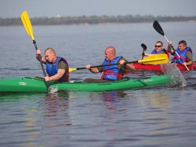 Leicester Outdoor Pursuits Centre Kayaking