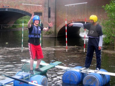 Leicester Outdoor Pursuits Centre Rafting
