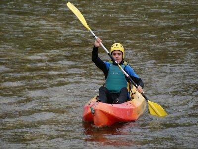 Open kayak Level 1,Cabriel river, Venta del Moro