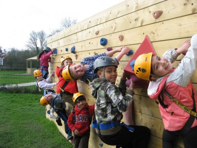 Leicester Outdoor Pursuits Centre Climbing