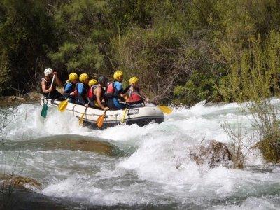 Integral rafting Hoces canyon, Venta del Moro