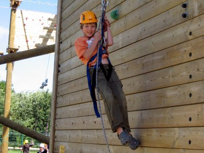 Leicester Outdoor Pursuits Centre Abseiling