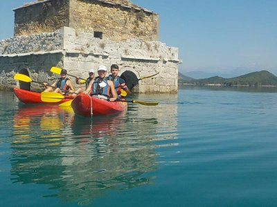 Calm waters kayak for children up to 16, Pyrenees