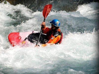 Cinca Descent On Kayak, Rough Water