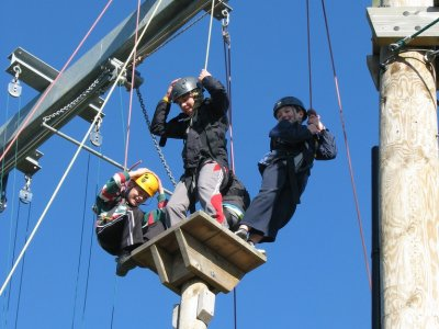Leicester Outdoor Pursuits Centre High Ropes