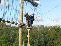 High ropes is a safe activity suitable for everyone