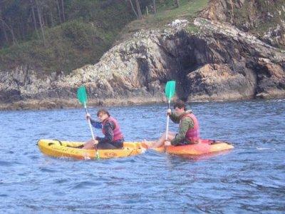4h kayaking tour in Sada estuary for adults