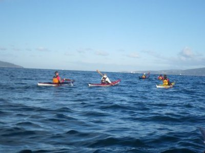 4 hour Kayak route for kids