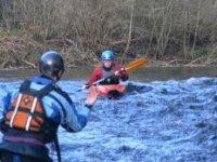Intermediate kayaking lesson