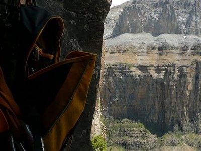 Climbing advanced level in Ordesa