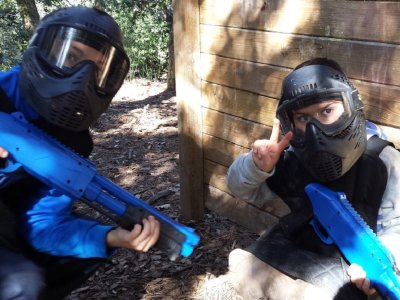 Paintball for Kids in Dosrius BCN Unlimited Balls