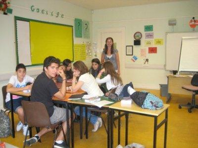 3-week English camp in Dublin