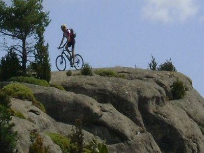 1/2 day Mountain Bike trip in the Pyrenees