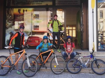 1 Day Mountain Bike Route in the Pyrenees