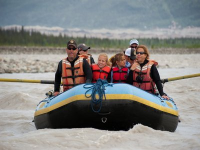 Family Trip: Rafting in Esera River, adult fee
