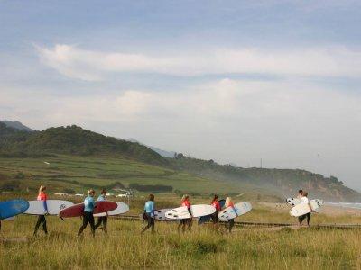 La Asturiana Surfcamp Surf