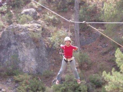 Hiking+zip-line in Pozo Alcón