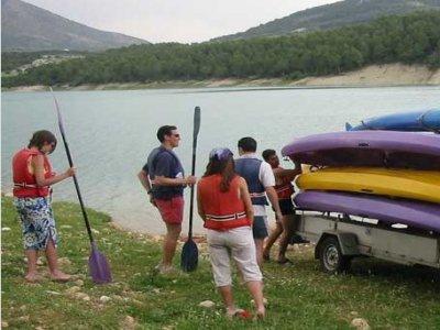 kayak & Archery & rockwall in P.Alcón 5hrs