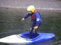 Kayaking stunts