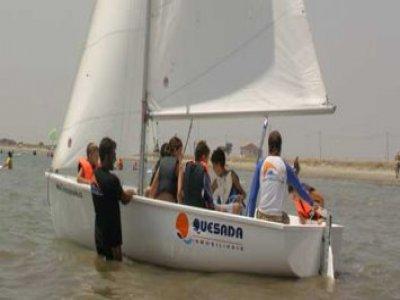 Offer for schoolchildren: 5 entire sailing days