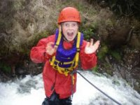 Canyoning excitment
