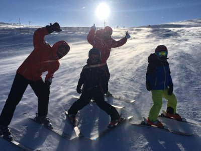 The Ski School Skiing