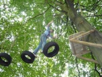 Beamish Wild High Ropes