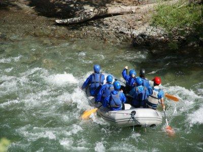 White Water Rafting Llavorsí to Rialp 14 km