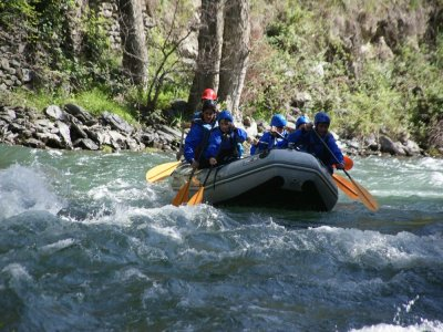 Rafting from Lavorsí to Sort 10.5 miles 3h 30min