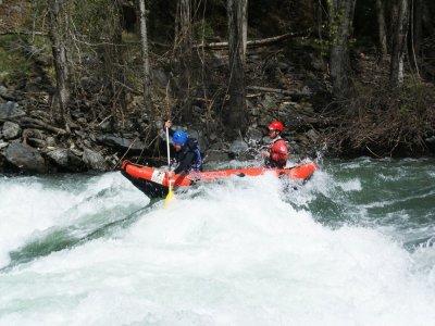 Canoeing Descent Rough Waters Llavorsí Guilleri
