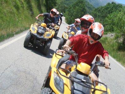 Two-seater quad tour Pallars Sobirà 1h