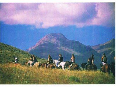 1-hour horse ride in Rialp